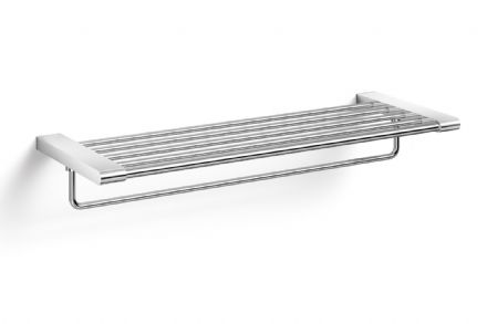 Zack Atore Polished Stainless Steel Towel Shelf